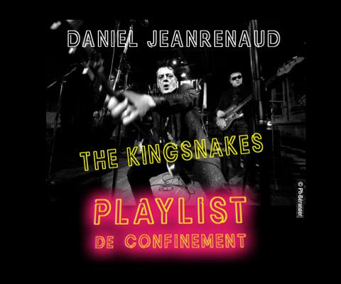 Play List de confinement 48 : Daniel Jeanrenaud – The Kingsnakes