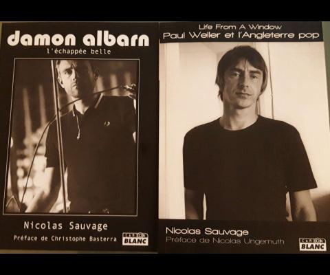 Nicolas Sauvage un biographe Britpop