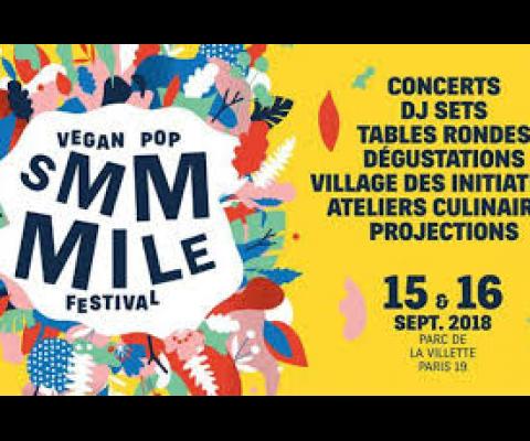 Le festival Smmmile 2018, le 15 et 16 septembre 2018