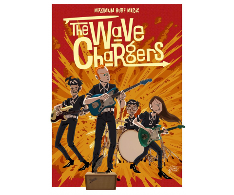 Play List de confinement 43 : The Wave Chargers