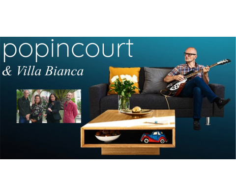 Popincourt & Villa Bianca en concert le 17 septembre