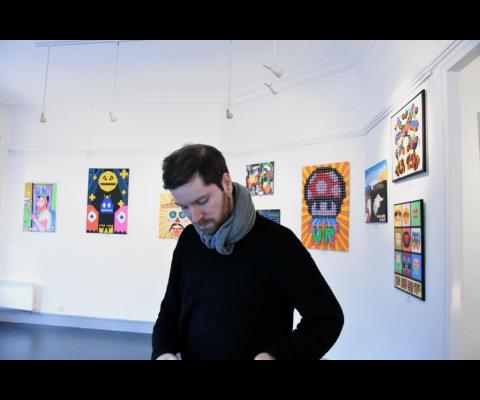 Azezu : un artiste dans la Nuit Blanche